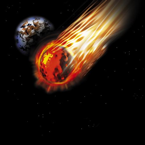asteroid, hantaman meteor, bintang jatuh, astronomi, ruang angkasa, tata surya, solar system